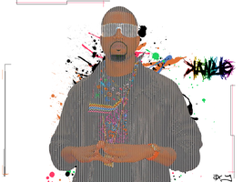 Mr kanYe WesT by a2designs