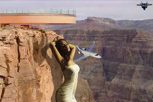Megan Fox at the Grand Canyon by MAZ-629999
