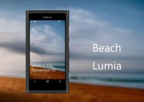 Beach Wallpaper for Nokia Lumia WP7 by biggzyn80