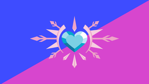 The Flag of the Crystal Empire (No Text) by PilotSolaris