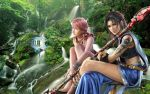 Oerba Dia Vanille and Yun Fang by DARK-Sup3rm4n-X