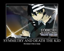 Death the Kid and Symmetry. by littleshadow3