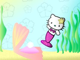 Hello Kitty Mermaid by kkplum