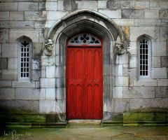 The Red Door by Pajunen