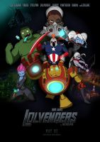 LOLVENGERS movie poster by Nestkeeper