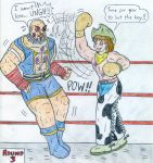 Boxing - jacobyel's request by Jose-Ramiro