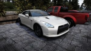 Nissan GTR parked by NissanGTRFan
