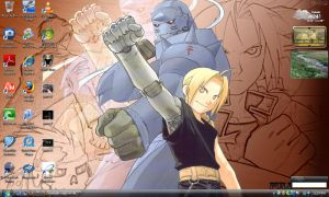 FMA Desktop Screenshot by SlothxKuriKara