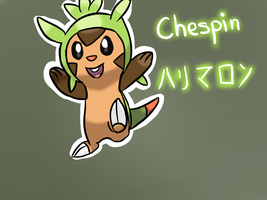 New 6th Gen Starter- Chespin by Windaura