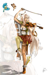 Music Empress_colored by MimiLeChampi