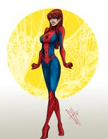 Mary Jane Watson by scottssketches