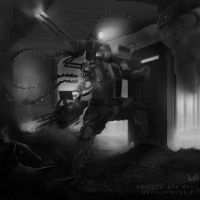 Tank Suit II _ Project: Bug Hunt _ Development _ f by MattBurton