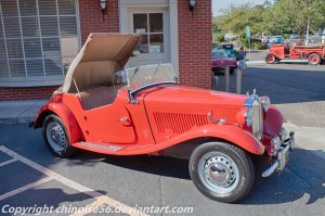 1953 MG TD by chinoise56