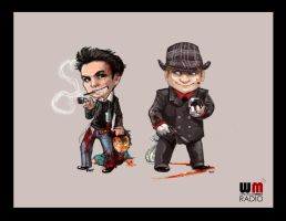 WMR - The Guys by oneoftwo