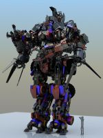 Overlord Prime by Donvius