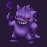 Gengar by Star-Corona
