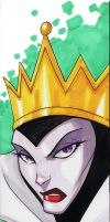 5x17 Evil Queen by Hodges-Art