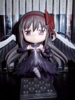 My newest Nendoroid, Devil Homura! by KittyChanBB