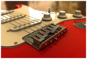 Guitar Close Up by AndyBuck