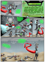 Project Red recreation: pg.6 by livinlovindude