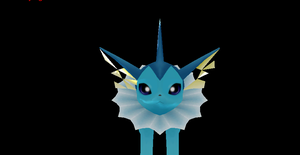 Vaporeon + DL by Valforwing