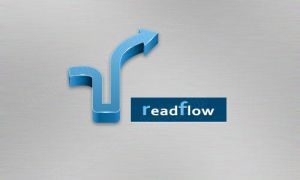 logo of readflow by customicondesign