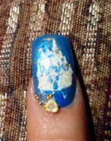Cinderella Castle manicure by myfairygodmother