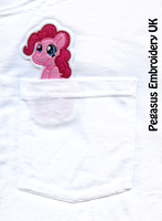 Pinkie Pie Pocket Peeper Pony Patch by GothyBeans