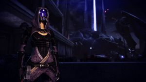 Tali'Zorah vas Normandy 22 by johntesh