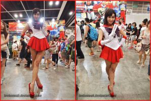 ACG HK 2014 - Sailor Mars by leekenwah
