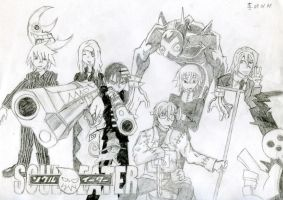 My favourite SE characters by Haladflire65