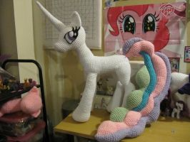 Celestia WIP Part 2 by NerdyKnitterDesigns