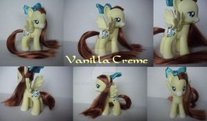 My little Pony Custom Vanilla Creme by BerryMouse