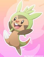 Chespin! by Nyaasu