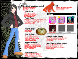 MH Profile- A.J. Black by FairyAmethyst