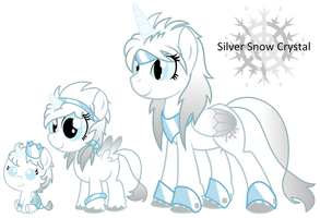 Silver Snow Crystal age chart by EvilFrenzy