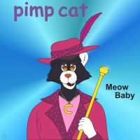 Pimp Cat by mearcu