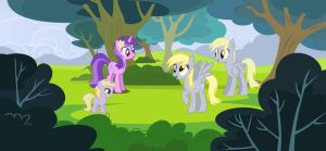 Derpy's Sisters by iDeltaVelocity