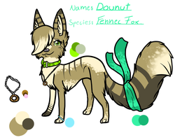Donut - Character Trade by Xenophilith