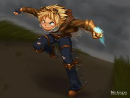 Ezreal by Nestkeeper