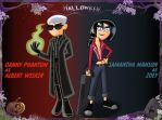 Halloween Jam: Danny and Sam by Coonfoot
