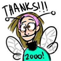 Thanks for 2000 pageviews by immessedup