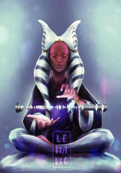 Commission: Star Wars, Seshla Phaa by LenamoArt