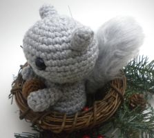 Hammy the Squirrel by StitchedLoveCrochet