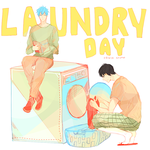 Laundry Day by kyunyo