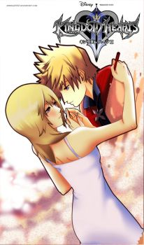 ROXAS and NAMINE : Fill Me by annria2002