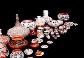 Indian Pottery by GolfinaArab