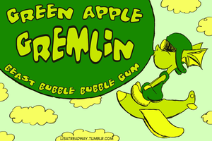 Green Apple Gremlin by ltread