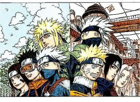 Team 7 and Team Yondaime by DarkZBoy