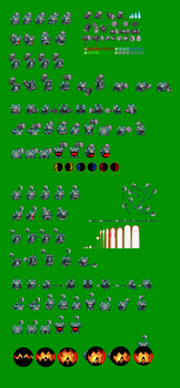King D Mind Sprites 2 by chechego